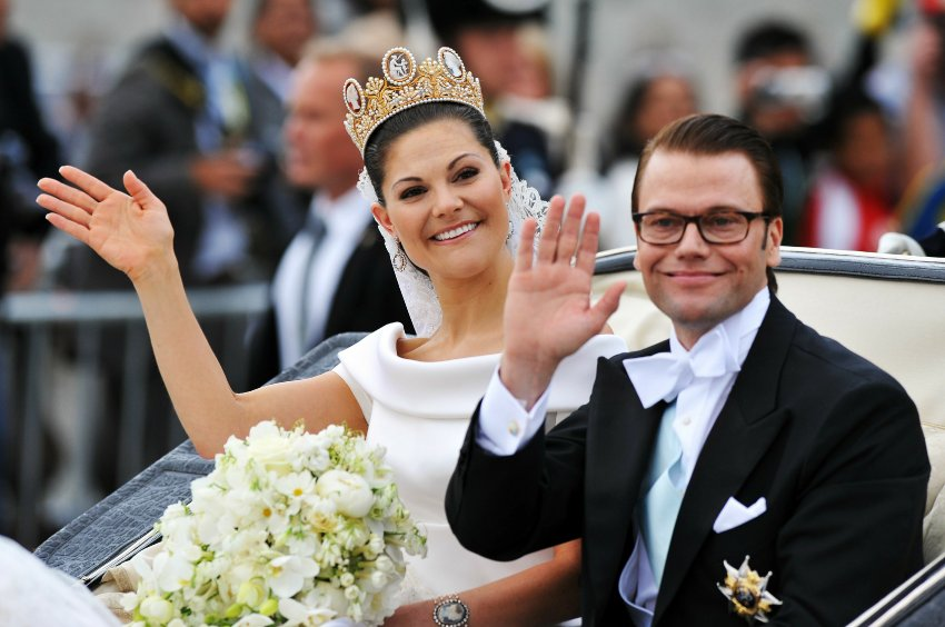 Princess victoria sweden wedding